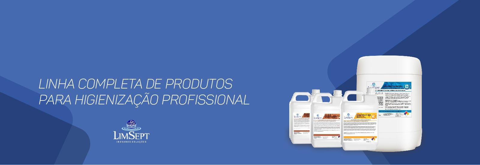 Linha completa de produtos