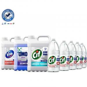 Fornecedores de material de higiene e limpeza
