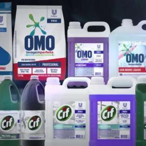 Produtos quimicos de limpeza