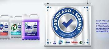 Produtos de higiene e limpeza profissional